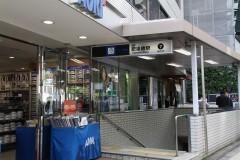 1.肥後橋駅7番出口を出て直進