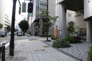2.大阪肥後橋郵便局右
